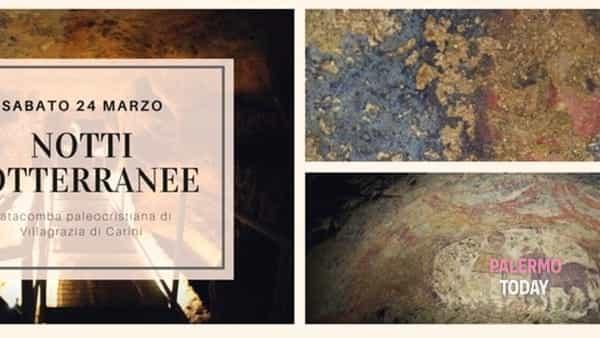 Notti sotterrane: apertura serale e aperitivo alla Catacomba di Villagrazia di Carini