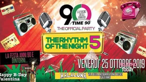 """""""The rhythm of the night"""", la musica degli anni Novanta in una serata al Malaluna"""