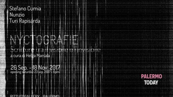 """""""Nyctografie"""", scritture tra il visibile e l'invisibile in mostra alla Rizzuto Gallery"""