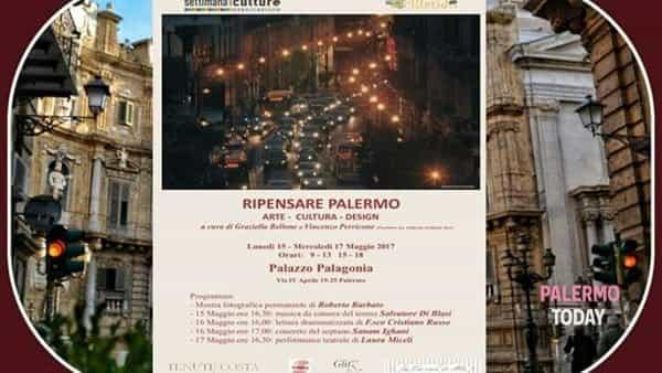 """""""Ripensare Palermo"""": arte, cultura e design in scena a Palazzo Palagonia"""