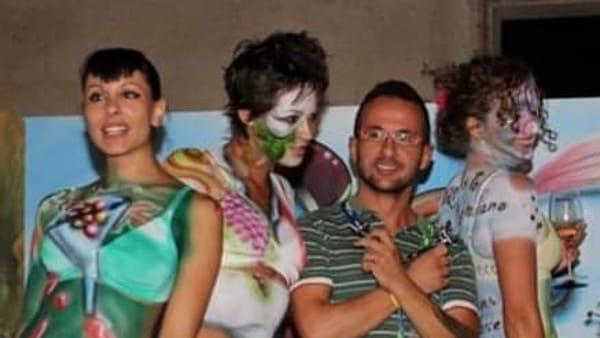 Il body painting anima le vie di Castelbuono, sulle Madonie torna il Divino Festival