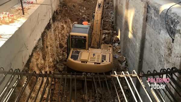 cantiere lavori palazzo ina piazzale ungheria 2-2