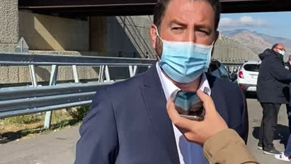 "VIDEO | Cancelleri: ""Entro la fine del 2021 via le ruspe dalla Palermo-Agrigento"""