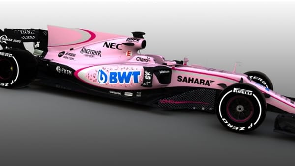 La Formula 1 si tinge di rosanero: Force India come il Palermo