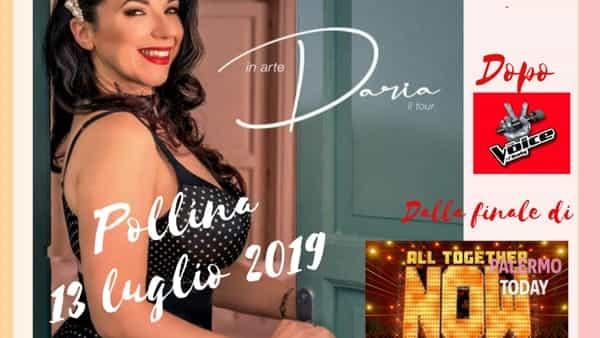 Notte di musica a Pollina, al Teatro Pietra Rosa il concerto di Daria Biancardi