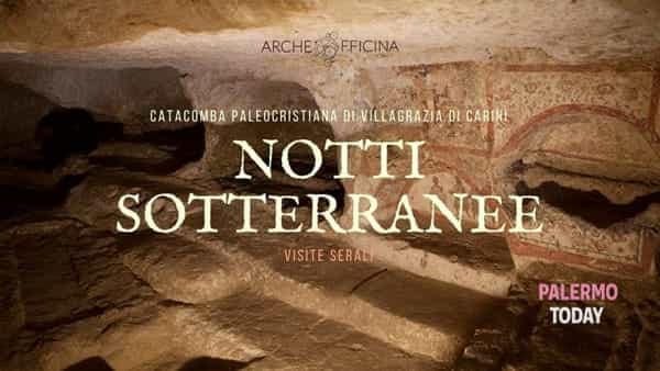 Notti sotterranee, visite serali alla catacomba paleocristiana di Villagrazia di Carini