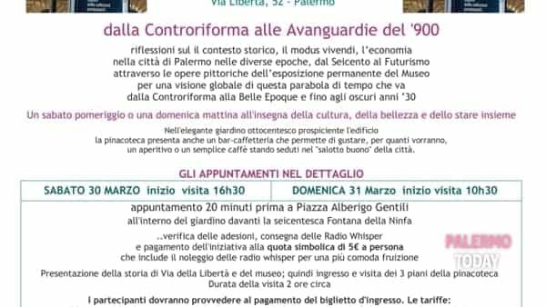 Dalla controriforma alle avanguardie del '900, tour alla pinacoteca di Villa Zito