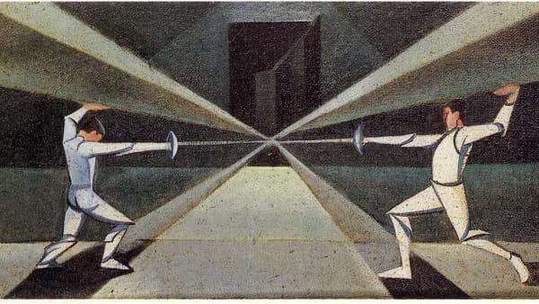 """""""Dialoghi futuristi"""": a Villa Zito una mostra omaggio a Pippo Rizzo, padre del Futurismo"""