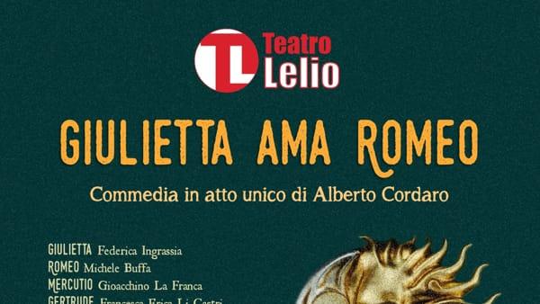 """""""Giulietta ama Romeo"""", il teatro delle opportunità per tutti è di casa al Lelio"""