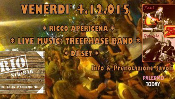 Treephase live show, concerto e dj set al Florio stk bar