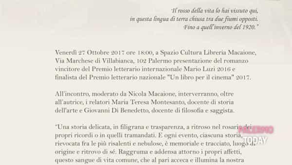"""Presentazione di """"Chilometro 9"""", il libro allo spazio eventi e cultura della Macaione"""
