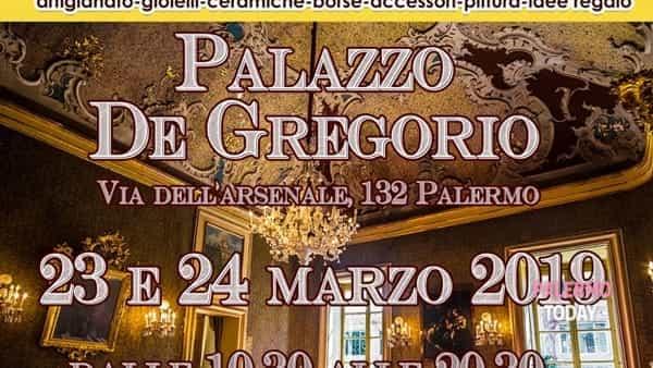 """""""Artisticamente"""", la fiera di artigianato nelle sale di Palazzo De Gregorio"""