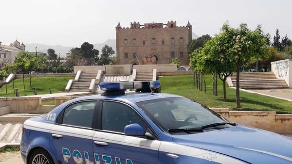 volante polizia castello zisa-2