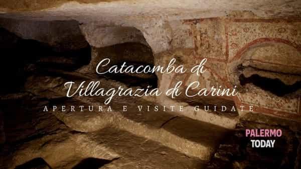 Alla scoperta degli affreschi dei primi cristiani, tour alla Catacomba di Villagrazia di Carini