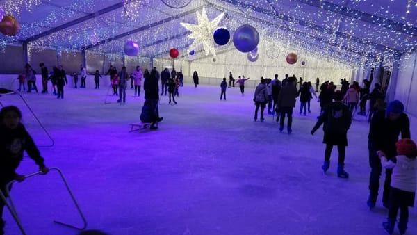 Palermo on Ice, Natale al Giardino Inglese: torna la pista di pattinaggio sul ghiaccio