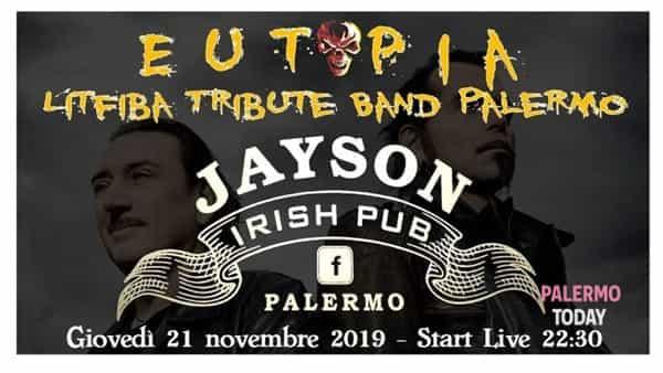 Giovedì nel segno del rock al Jayson irish pub, l'Eutopia band per un tributo ai Litfiba