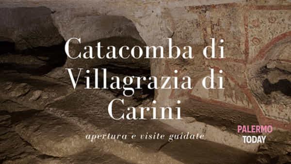 Alla scoperta dei primi cristiani, un tour nei meandri delle catacombe di Villagrazia di Carini