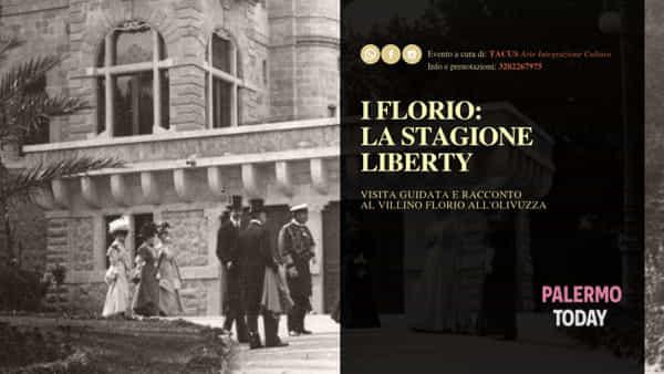 I Florio, storia di una vita Liberty a Palermo: visita guidata al Villino Florio all'Olivuzza