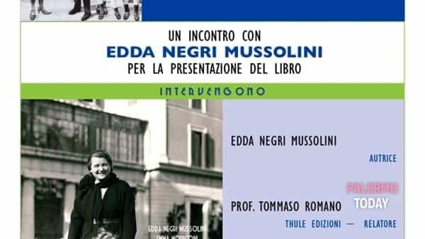 """""""Donna Rachele mia nonna"""", la nipote di Mussolini presenta il suo libro a Palermo"""