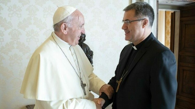 Monsignor Lorefice joins the CEI migration commission, then meets the Pope thumbnail