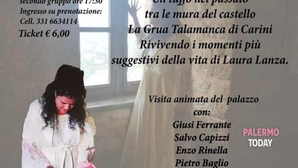 Donna Laura, l'ultimo respiro della baronessa di Carini in uno spettacolo al Castello
