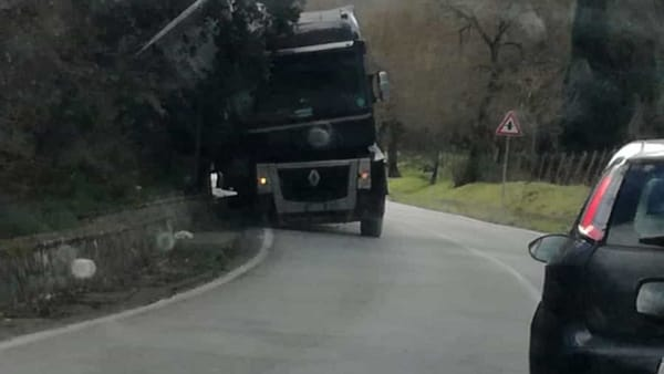 incidente strada statale 118