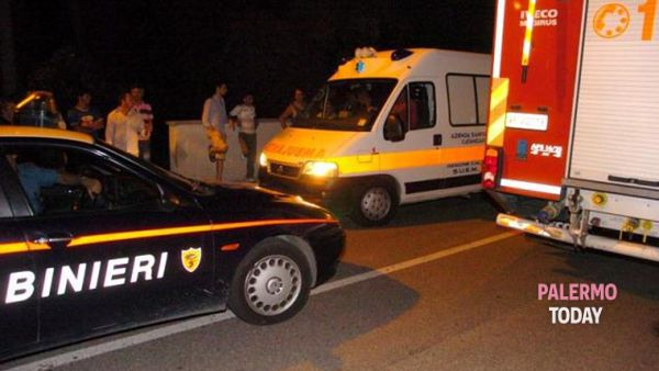 Incidente stradale a Bagheria, scontro Smart-motoape: morto un uomo