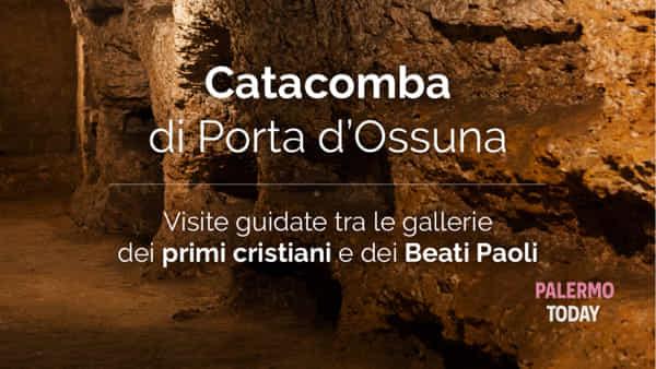 Alla scoperta della Palermo sotterranea con le visite alla catacomba di Porta d'Ossuna