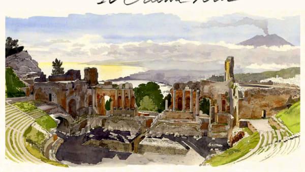 """""""Sicilia, il Grand Tour"""", la mostra sul viaggio che Goethe fece nell'Isola a Palazzo Reale"""