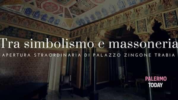 Un tour tra simbolismo e massoneria, apertura straordinaria di palazzo Zingone Trabia