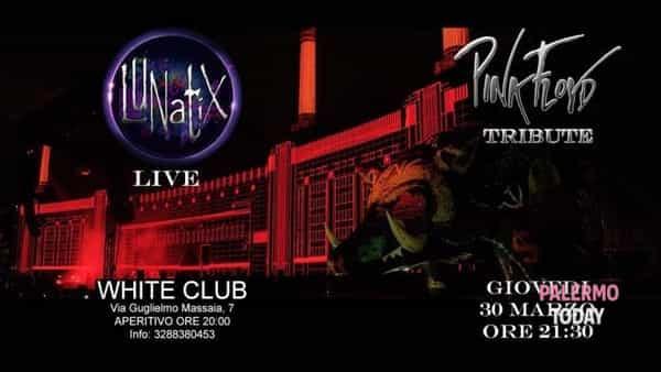 Lunatix, Pink Floyd tribute al White club