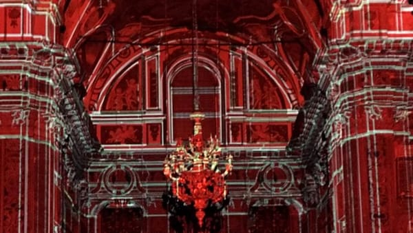 Santa Caterina, un video mapping racconta in chiave moderna tutto il sacro della chiesa
