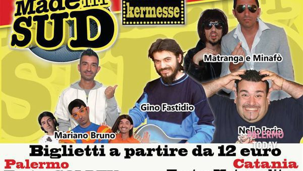 Teatro, i comici di Made in Sud al Golden