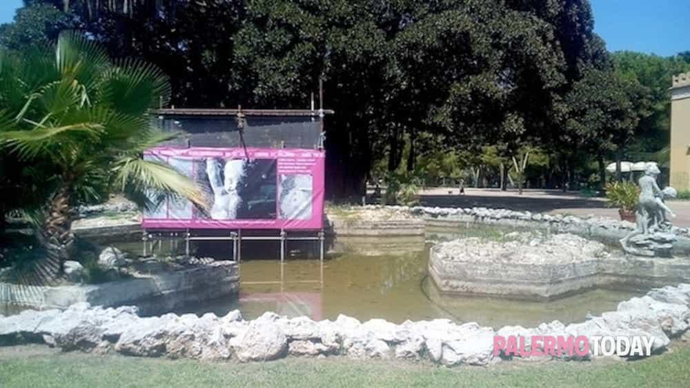 Bagno In Comune In Inglese : Abbandono e degrado delle fontane del giardino inglese