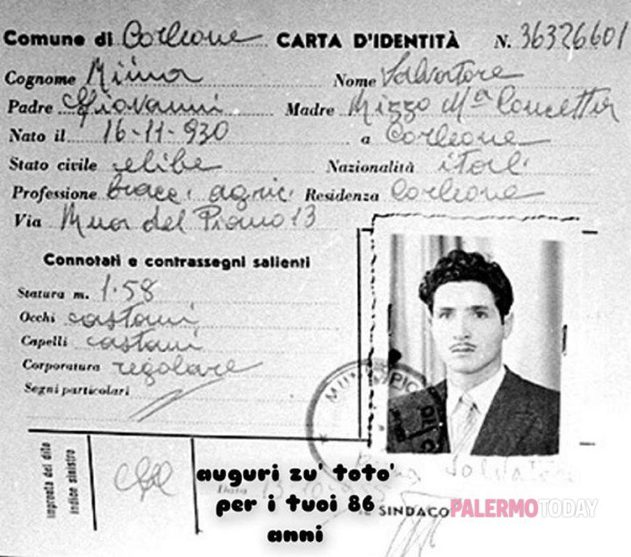 Mafia Auguri Zu Totò Su Facebook Il Compleanno Di Riina