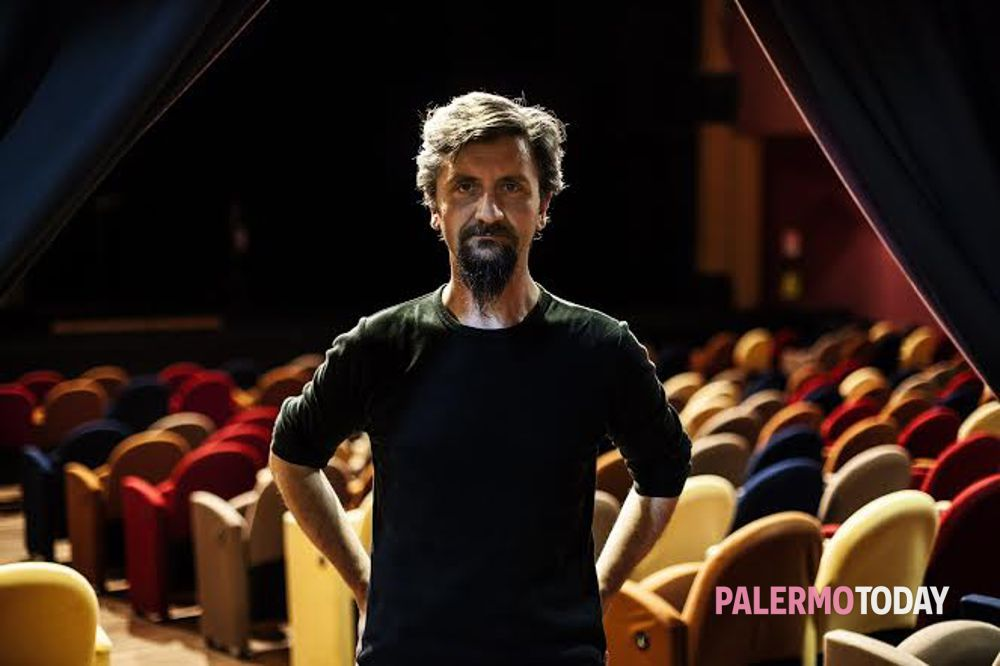 L'attore teatrale Ascanio Celestini
