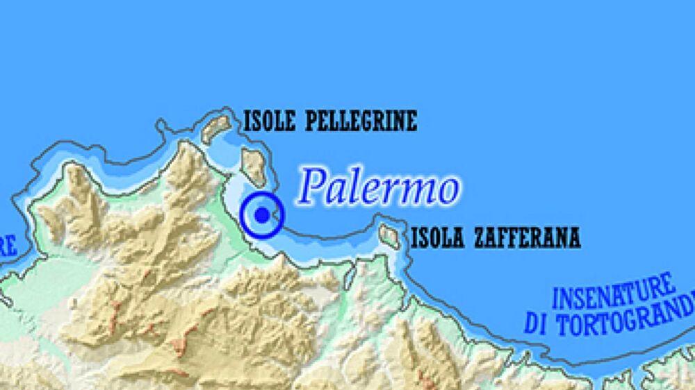Cartina Della Sicilia Con Le Isole.Palermo Sommersa Dal Mare Monte Pellegrino Un Isola Ecco Come Sara La Sicilia Nel 2786