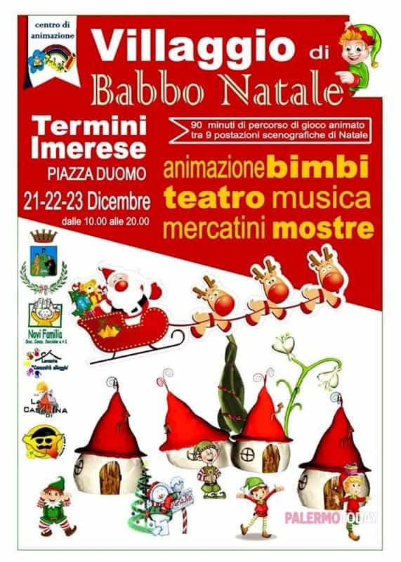 Villaggio Di Babbo Natale A Termini Imerese Dal 21 Al 23