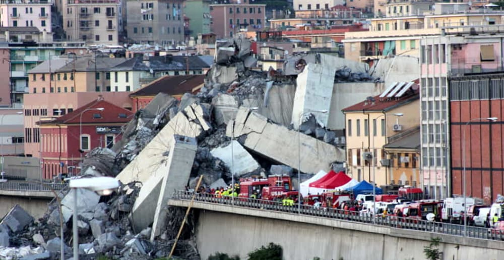 Foto GenovaToday  crollo ponte Morandi © edgardo genova e5c66c725c7c