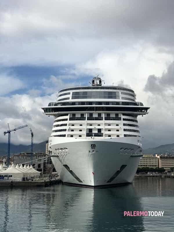 La prima volta della Msc Grandiosa, la nave da crociera ...