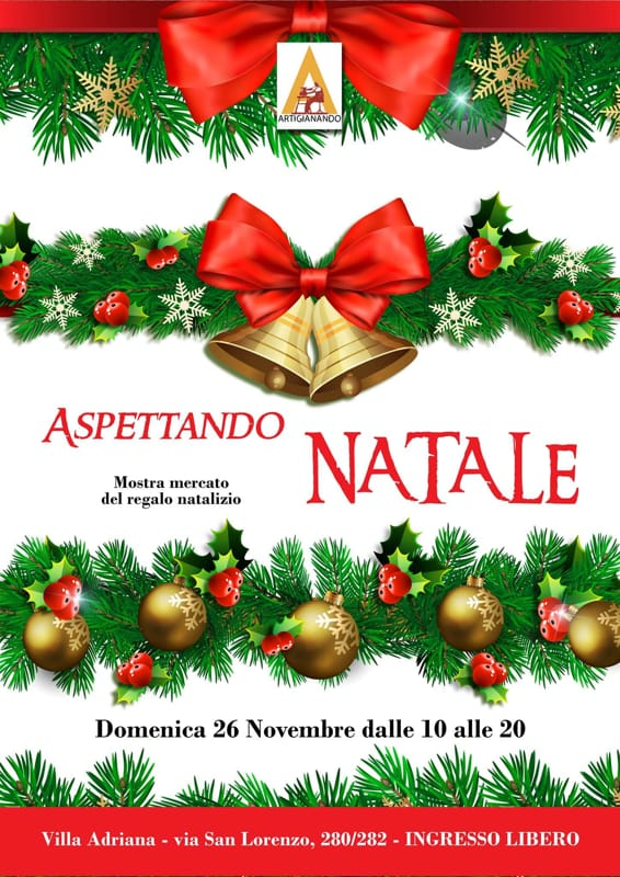 Immagini Aspettando Natale.Mostra Mercato Aspettando Natale A Villa Adriana 26