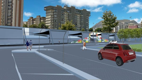 rendering mercatino parcheggio emiri-2
