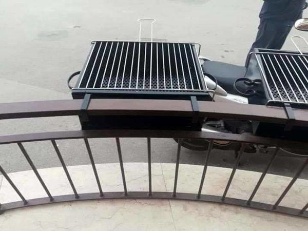 Griglia per balcone 2-2-2