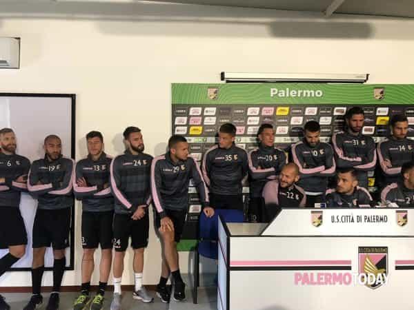 Conferenza giocatori Palermo 2-2-2