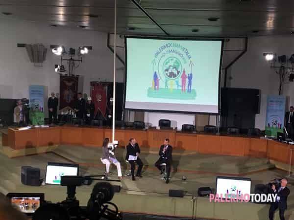 Salvini parla in Aula bunker 1-2