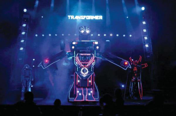 Circo Orfei - trasformers-2