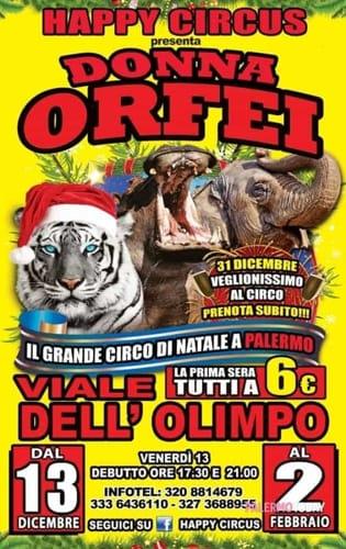 Circus Donna orfei locandina-2