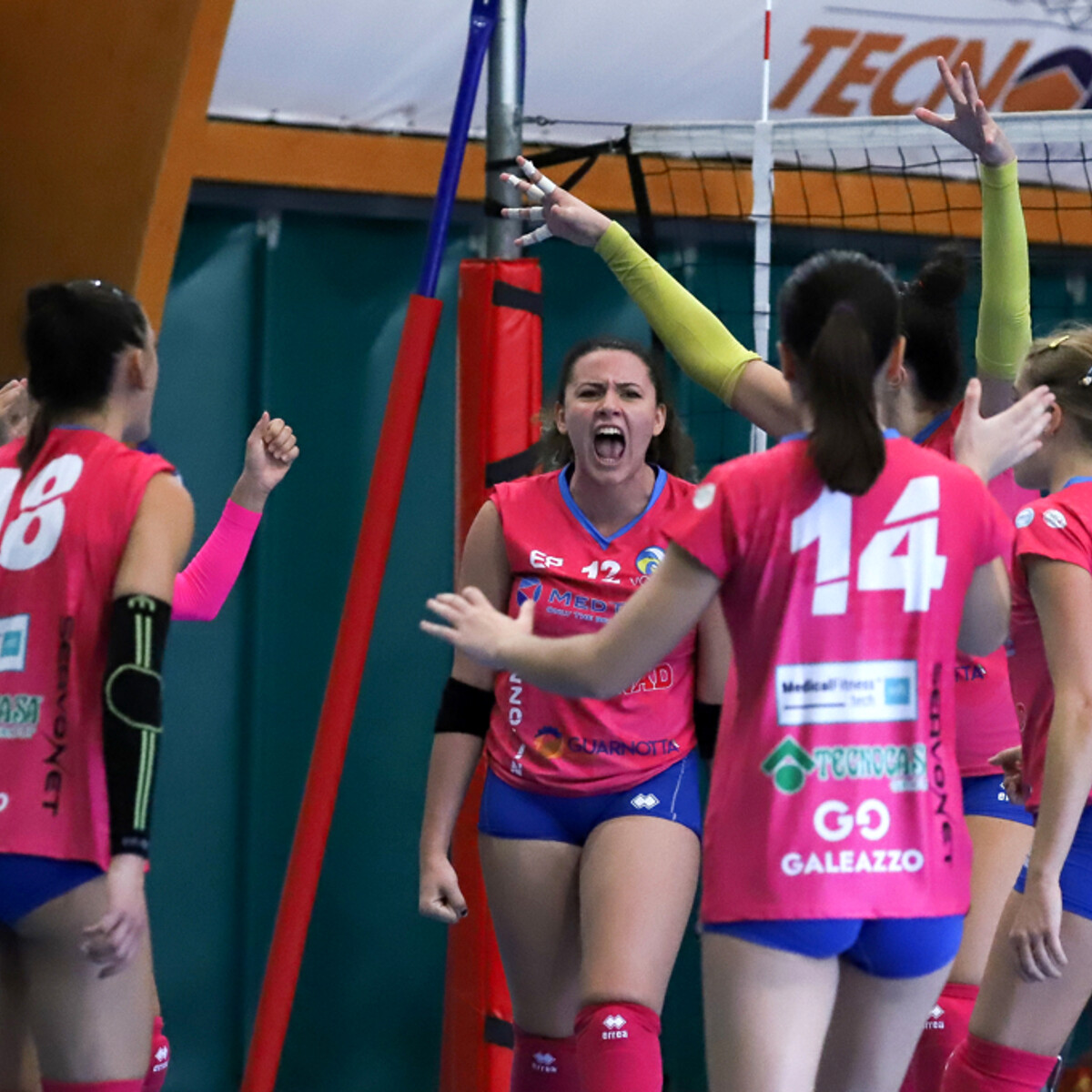 Medtrade volley Palermo, historic debut in women's B2 series thumbnail