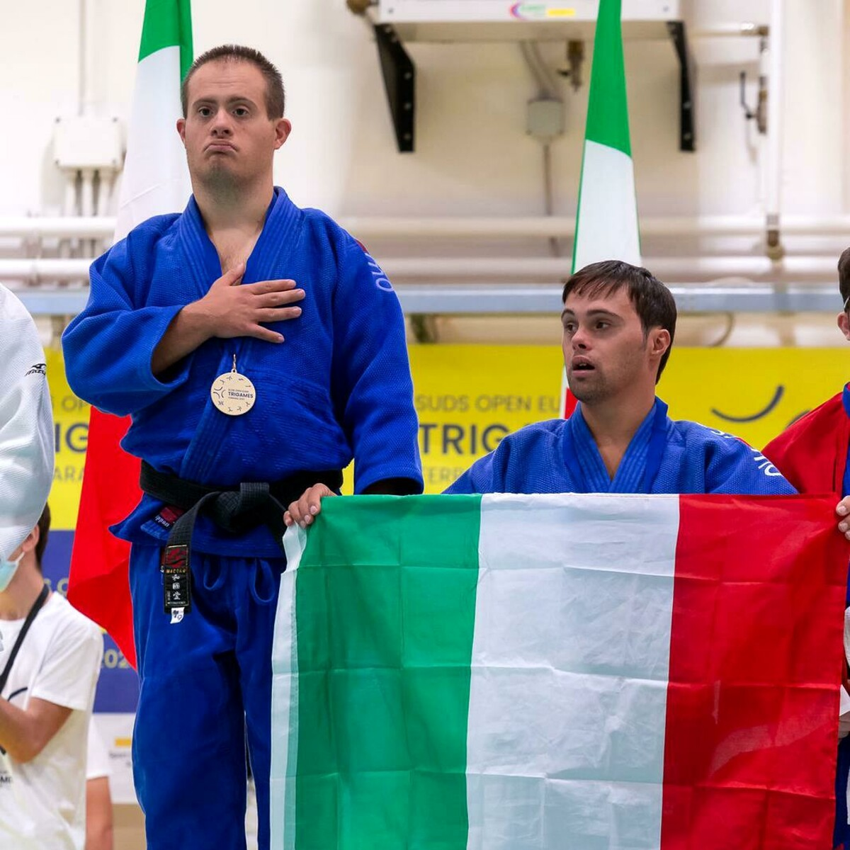 Euro Trigames 2021, the Palermo best judokas and Zarbo on the roof of Europe thumbnail