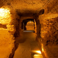 visite guidate alla catacomba di porta d'ossuna tra archeologia e leggende